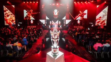 Six Raleigh was the latest major event for Ubisoft's Rainbow Six.