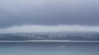 Bad weather builds over Cornwall on Thursday, ahead of the summit's start on Friday.