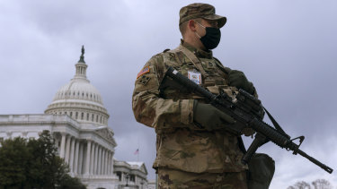 Tensions are high in the US with fears of political violence growing.