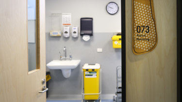 The new injecting room in Richmond.