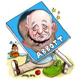 Roger Corbett. Illustration: John Shakespeare