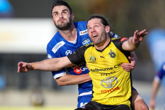 Victorian clubs South Melbourne and Heidelberg United are among the 30 clubs who have contributed funds towards AAFC's planned modelling for an A-League second division.
