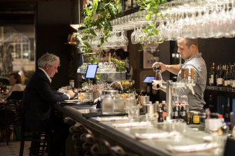 """""""The later dining crowd has dried up except on Friday/Saturday nights,"""" said Bistro Rex owner Peter Curcuruto."""