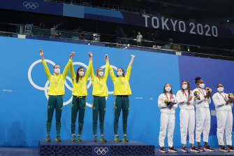 Australia's third gold medal in the event, with a new generation coming through, bodes well for Paris in three years.
