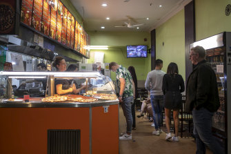 Oxford Street's kebabs start to heat up.