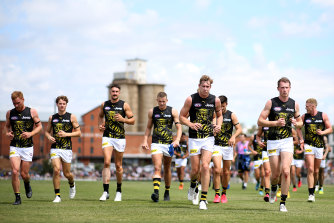 Richmond will have their full list available for selection for round one - save for the retired Alex Rance.