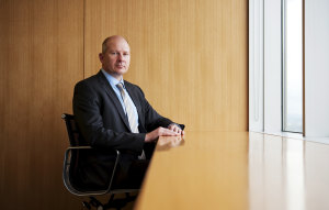 David Atkin, the CEO of Cbus.