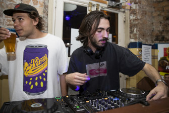 DJs are back in business playing to live dance floors at the Lord Gladstone Hotel.