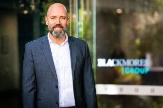 Blackmores CEO Alastair Symington.