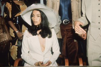 Bianca Jagger in 1971.