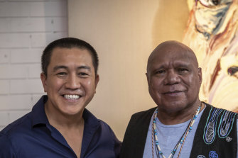 Arts coverage is seen as an eat-your-veggies undertaking that viewers must be baited into consuming. So with Anh Do (pictured with Archie Roach), Aunty struck gold; a comedian who can paint.