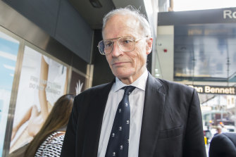 Former High Court judge Dyson Heydon, pictured in 2015.