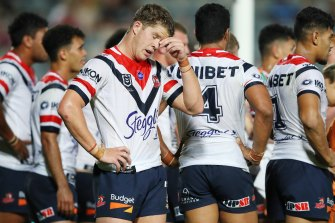 It was a night to forget for a youthful Roosters side in Gosford.