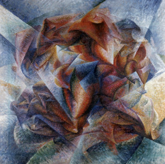 'Dynamism of a Soccer Player' by Umberto Boccioni