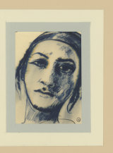 Spanish Girl, by Brett Whiteley, part of the Whitlam folio, on display for the first time from Friday June 7.