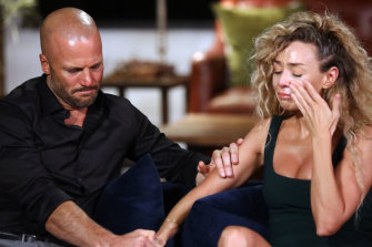 Mike and Heidi get emotional about their break-up in Married at First Sight.