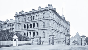 Colonial Secretary's Building.