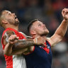As it happened: Dees outlast Swans; Power crush Crows; Pies edge North; GWS pip Dons; Saints overcome Suns