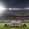 Visiting team locked out of stadium after River Plate refuse to play
