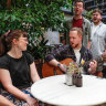 Nine blokes walk into a pub... and start singing