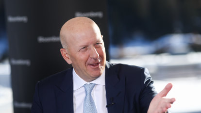 Goldman Sachs CEO the poster boy for a 'softer' Wall Street