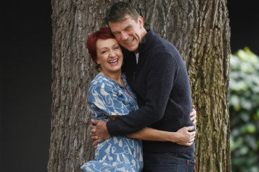"""Dr Niki Vincent and Chuck Smeeton: """"I'm pretty tough and not needy in the slightest, so it's lovely that Chuck wants to take care of me."""""""