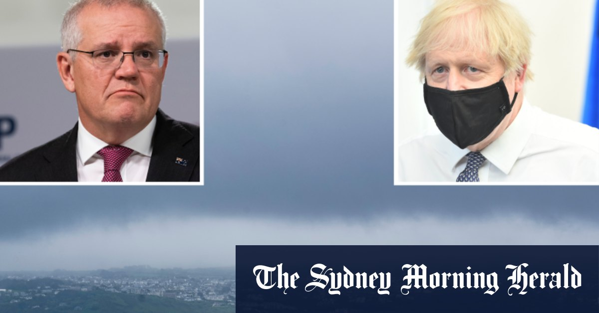 G7 in chaos as fog prevents world leader planes from landing – Sydney Morning Herald