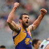 Kennedy boots seven as the Eagles put the Pies to the sword