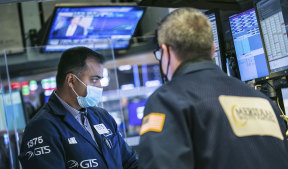 Wall Street saw a wild day of trading on Wednesday.