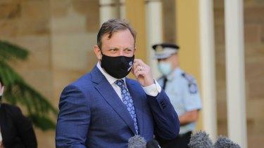 Queensland Deputy Premier Steven Miles.