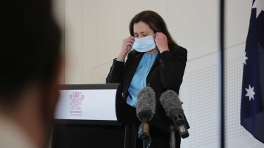 Queensland Premier Annastacia Palaszczuk has lauded the state's contact tracers as heroes, but there are questions about whether they will cope with an influx of cases when the border reopens.