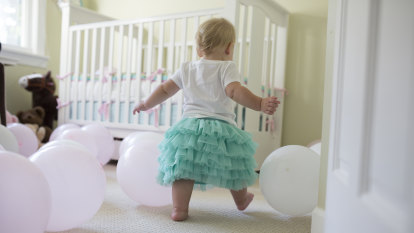 To my one-year-old daughter, born at the right time