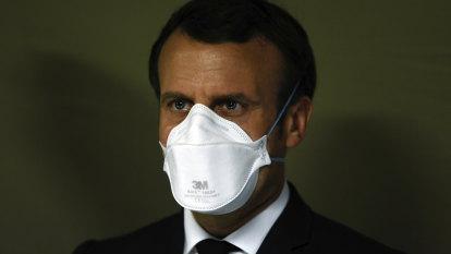 You failed us, angry French medics tell Emmanuel Macron