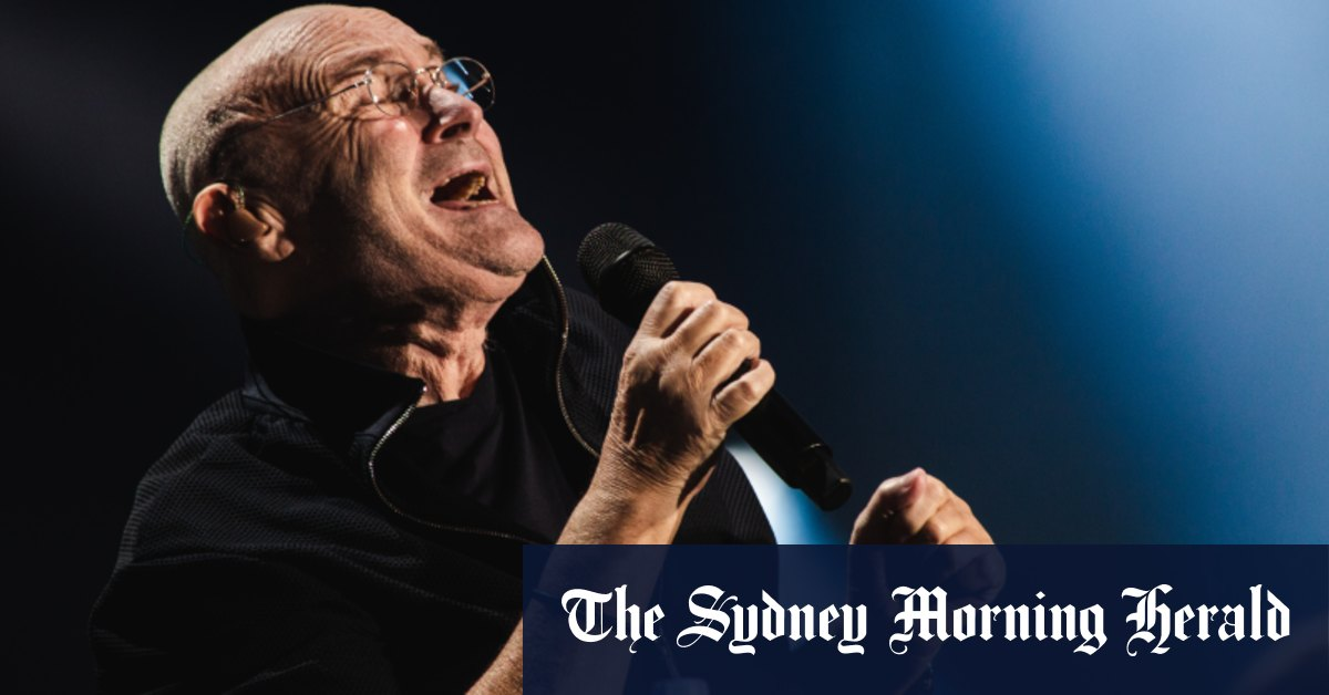 Crown gambler came for free Phil Collins tickets then lost $30000 – Sydney Morning Herald