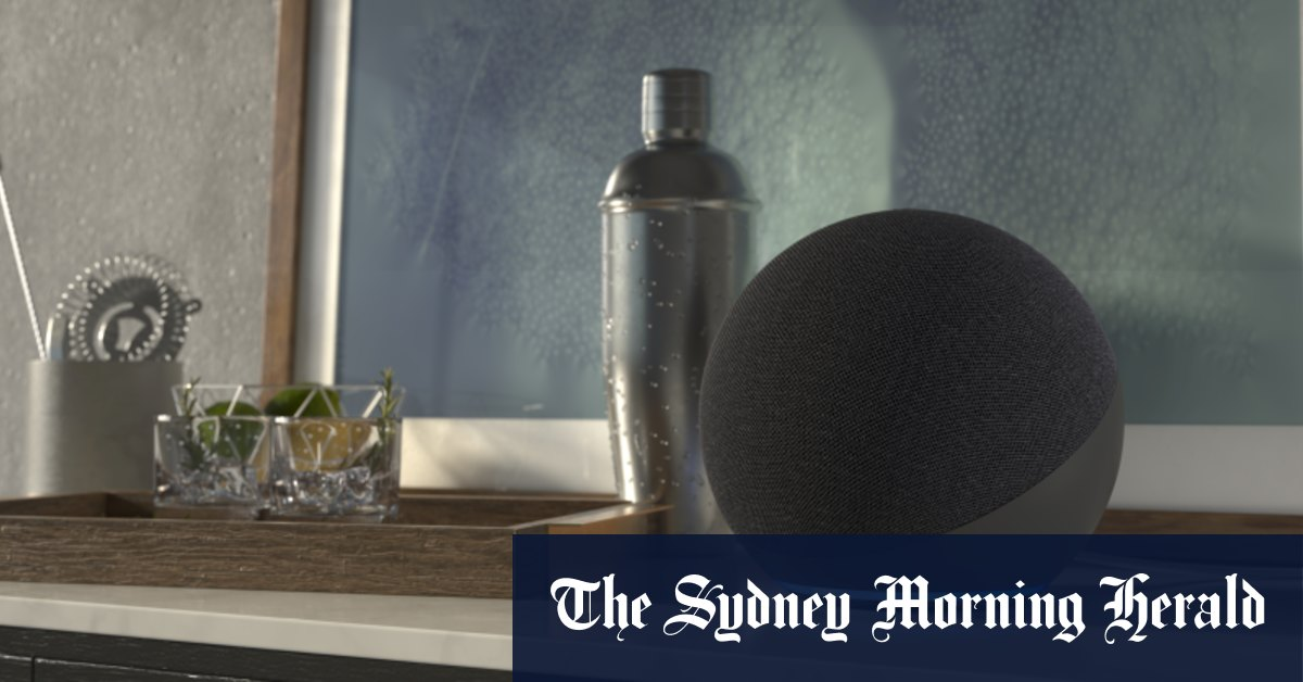 Amazon redesigns Echo devices with sphere speakers rotating display – Sydney Morning Herald