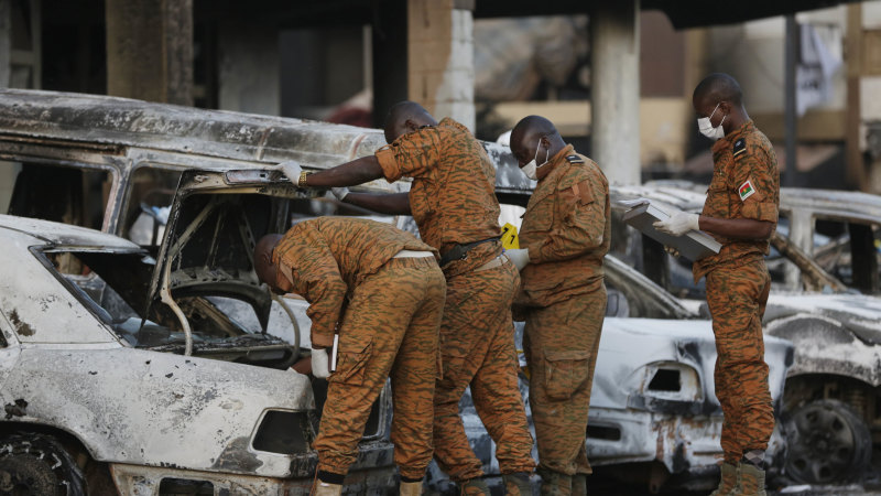 Extremists slaughter civilians in Burkina Faso