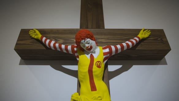 'McJesus' sculpture sparks outrage for Christians in Israel