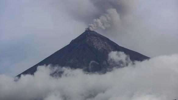 Guatemala volcano spews ash months after deadly eruption