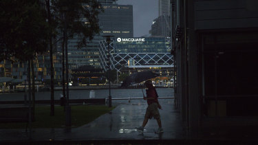 Rain and hail pelted Sydney on Saturday night, with trains, planes and football fans all hit by the weather.