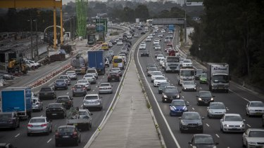 Trucks will be fined for avoiding the new NorthConnex tollway.