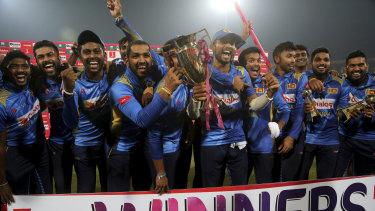 The Sri Lankans were surprise 3-0 winners in the recent T20 series in Pakistan.