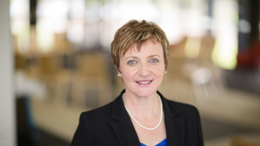Deborah Barker became St Kevin's College's first woman principal in January this year.