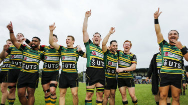 Gordon are through to their first Shute Shield final since 1998.