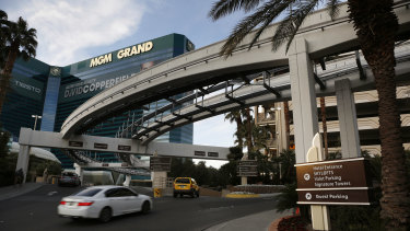 Top Rank will host boxing at the MGM Grand in Las Vegas.