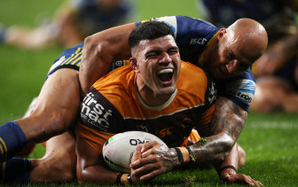 The departure of David Fifita was symptomatic of Brisbane's demise in 2020.