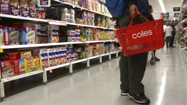 Coles has slashed the price of over 300 products in store.