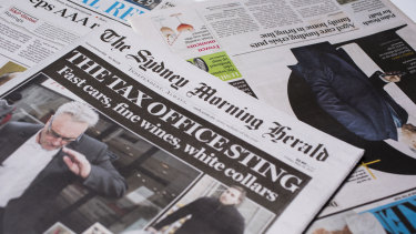 The Sydney Morning Herald extended its lead in readership.