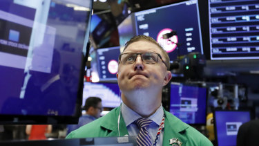 It was the second-straight day of losses for Wall Street.