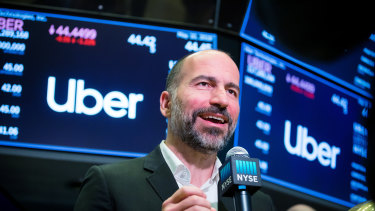 Despite conditions being less than ideal, Uber chief Dara Khosrowshahi said he didn't consider postponing the IPO.