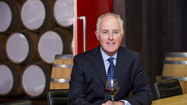 Treasury Wine Estates boss Michael Clarke will retire on July 1.